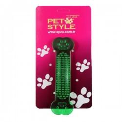 Pet Style Yumuşak Köpek Kemiği Yeşil