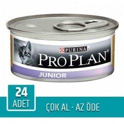 Pro Plan Junior Tavuklu Yavru Kedi Konservesi 85gr 24'lü