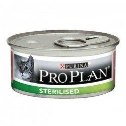 Pro Plan Sterilised Kısırlaştırılmış Ton Balıklı ve Somonlu Yetişkin Kedi Konservesi 85gr