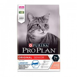 Pro Plan Senior 7+ Somonlu Yaşlı Kedi Maması 3Kg