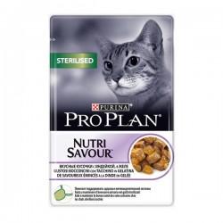 Pro Plan Sterilised Hindili Pouch Kısırlaştırılmış Kedi Maması 85gr
