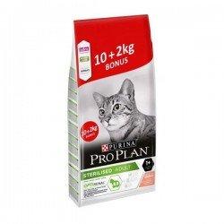 Pro Plan Sterilised Somonlu Kısırlaştırılmış Kedi Maması 10+2 Kg