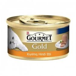 Purina Gourmet Gold Kıyılmış Hindi 85gr