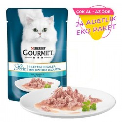 Purina Gourmet Perle Izgara Ton Balığı Kedi Maması 85gr x 24 Adet