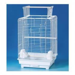 QH Papağan Kafesi Beyaz 40.5x40.5x59.5cm