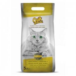 Quik Bentonit Topaklaşan Kedi Kumu Kalın 5Lt
