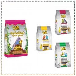 Quik Vitaminli Premium Muhabbet Kuşu Besin Paketi