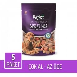 Reflex Semi-Moist Sport Mix Köpek Ödülü 150 Gr x 5 Paket