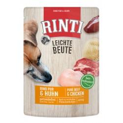 Rinti LB Dana ve Tavuk Etli Tahılsız Yaş Köpek Maması 400gr