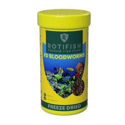 Rotifish FD Bloodworms Kurutulmuş Kan Kurdu 50 ml - 4gr