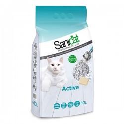Sanicat Active Topaklaşan Kedi Kumu 10Lt