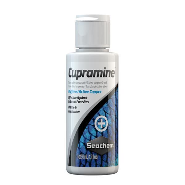 Seachem Cupramine 50 ml Dış Parazit İlaçı