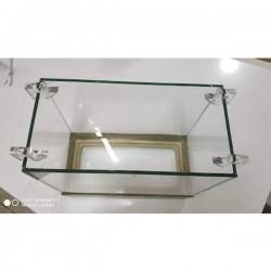 Şeffaf Buhar Camı Tutucu 8 Adet 6mm Camlar için