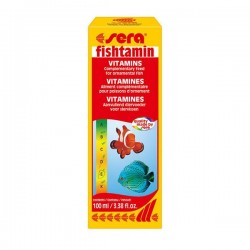 Sera 2740 Fishtamin 100ml Balık Vitamini