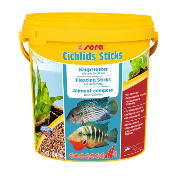 Sera Cichlid Sticks - Kovadan Bölme 100gr Balık