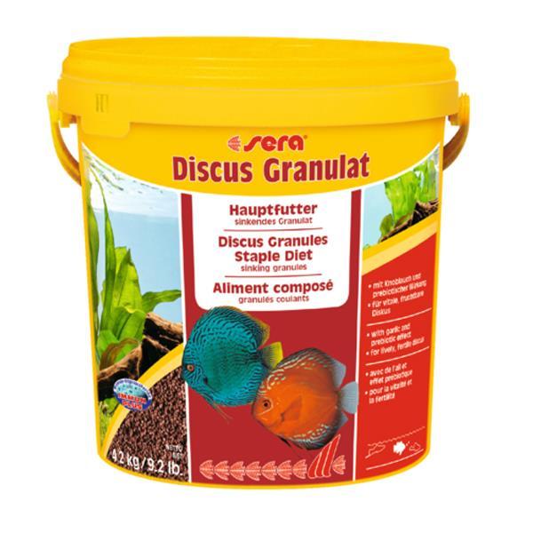 Sera Discus Granulat - Kovadan Bölme 1000gr Balık