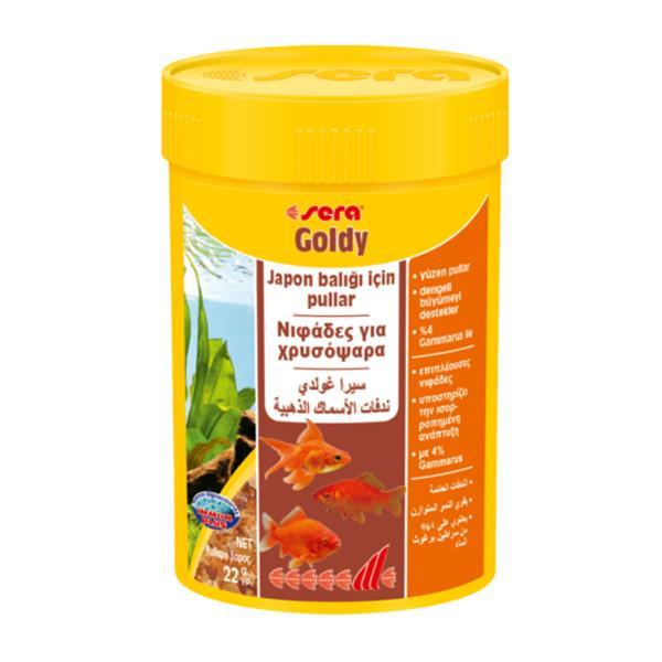Sera Goldy 100 Ml 22gr Balık