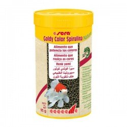 Sera Goldy Color Spirulina 250 Ml 95 Gr