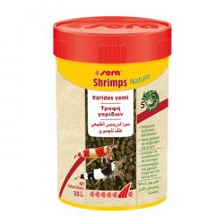 Sera Shrimps Natural 55gr 100ml Doğal Karides Yemi