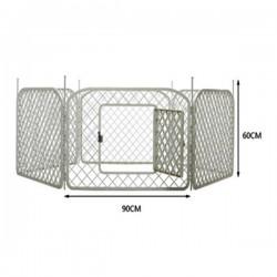 Strong Kedi Ve Köpek İçin Altıgen Çit Panel Model 90x60 cm