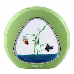 Sunsun Akvaryum 6Lt. Yeşil Full Set