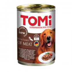 Tomi Karışık Etli Köpek Konservesi 400Gr