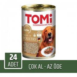 Tomi Kümes Hayvanlı Köpek Konservesi 400Gr 24'lü