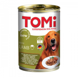 Tomi Kuzu Etli Köpek Konservesi 400Gr