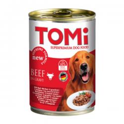 Tomi Sığır Etli Köpek Konservesi 400Gr