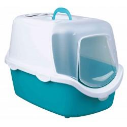Trixie Kedi Kapalı Tuvalet, 40×40×56cm, Akuamarin