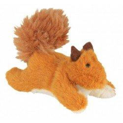 Trixie Kedi Oyuncağı, Peluş Sincap, Kediotlu, 9cm