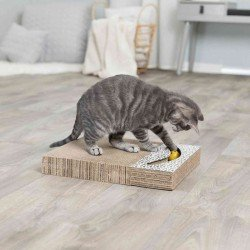 Trixie Kedi Tırmalaması, Oyuncaklı, 38X30cm Beyaz