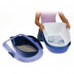 Trixie Kedi Tuvaleti, Elekli, Mavi 39×22×59cm
