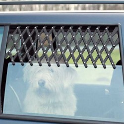 Trixie Köpek Araba Camı Parmaklığı, 30-110cm,Siyah