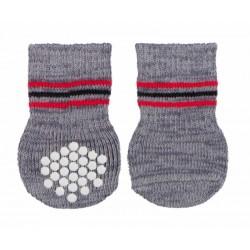 Trixie Köpek Çorabı, 2 Adet, Kaymaz, L-XL, 2 Adet, Gri