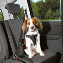 Trixie Köpek Emniyet Kemeri ve Göğüs Tasması, S-M:40-55cm/17mm, Siyah