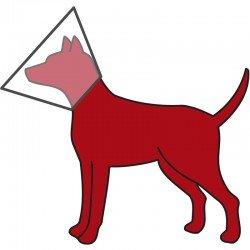 Trixie Köpek Koruyucu Yakalık S 25-32cm/12cm