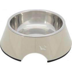 Trixie Köpek Mama ve Su Kabı, Melamin/Paslanmaz Çelik, 0.2lt/ø14cm, Kum Beji