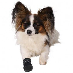 Trixie Köpek Patiği , Neopren , 2 Adet , S , Siyah