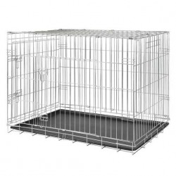 Trixie Köpek Taşıma Galvaniz Kafes, 78X62X55cm