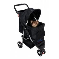 Trixie Köpek ve Kedi Arabası 47x100x80cm , Siyah