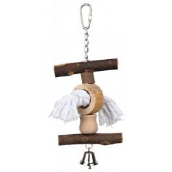 Trixie Kuş Oyuncağı, Askılı, Zilli, Doğal, 20cm