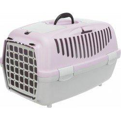 Trixie Pet Taşıma Çantası XS-S 37x34x55cm A.Gri/Açık Lila