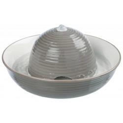 Trixie Seramik Otomatik Su Kabı, 1.5Lt, Gri/Beyaz
