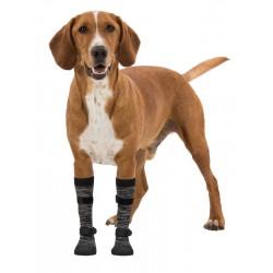 Trixie Yumuşak Köpek Çizmesi XL 2 Adet Siyah-Gri