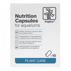 Tropica Nutrition Capsules 10 pcs Kapsül Bitki Gübresi