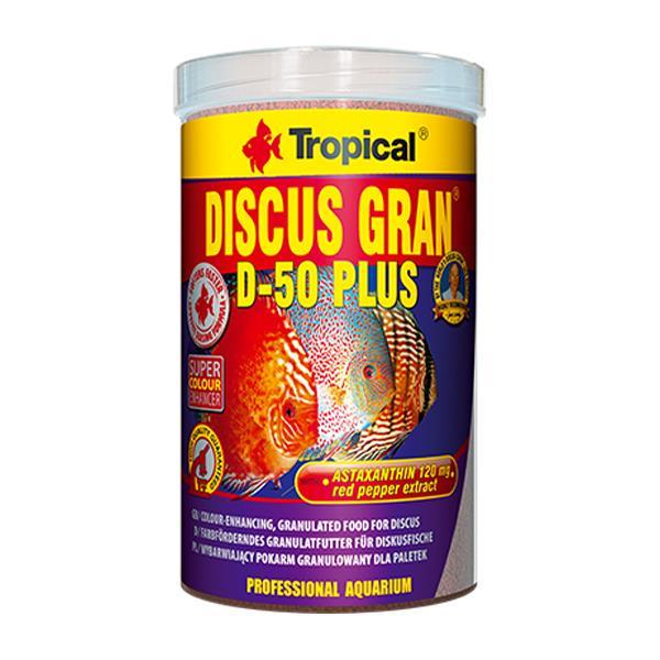 Tropical Discus Gran D 50 Plus 100gr Kovadan Bölme Balık