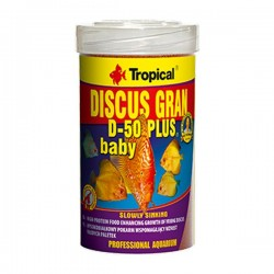 Tropical Discus Gran D 50 Plus Baby 100gr Kovadan Bölme