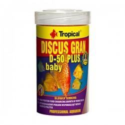 Tropical Discus Gran D 50 Plus Baby 250ml 130gr