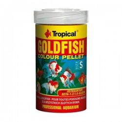 Tropical Goldfish Colour Pellet Size Small 250ml 110gr